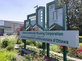 The Ottawa Community Housing Corporation head office. OCH provides homes for 32,000 people, making it Canada's fourth-largest social housing provider.