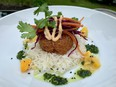 Loom Bistro's shrimp cake is just one of the many culinary delights found in Almonte, writes Peter Hum.