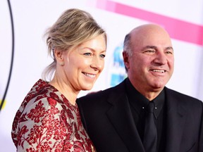Files: Linda O'Leary and Kevin O'Leary in November 2017.