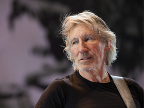 Roger Waters at the Canadian Tire Centre during his US + Them tour in 2017.