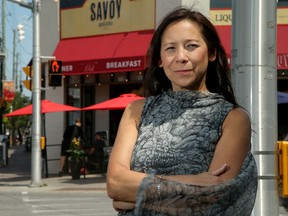 Sueling Ching, CEO of the Ottawa Board of Trade, is in favour of vaccination passports to help businesses avoid more lockdowns in the future, ensuring staff and customers are safe. Photographed July 16, 2021 in Westboro's business area.