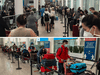 Toronto's Pearson Airport on July 18 and April 23, 2021 — the federal government's performance at the border has been terrible.
