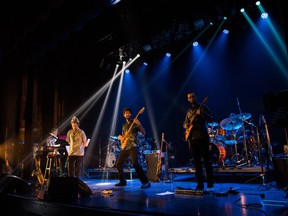 Carl Mayotte's Fusion Quintet, with guest drummer Paul Brochu, performed larger-than-life jazz-rock in front of a local crowd at the Quebec Jazz Festival in June 2021