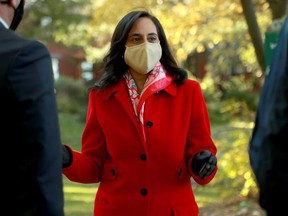 Procurement Minister Anita Anand, the MP for Oakville, is currently the cabinet minister responsible for the NCC.
