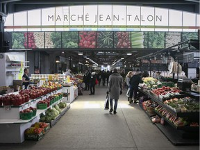 Programs that make fruits and vegetables comparatively more affordable can help people who eat junk food by necessity, Christopher Labos writes. Above: Montreal's Jean-Talon Market.