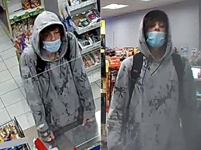 Police is asking for the public's help in identifying a man who robbed a convenience store on Walkley Road on August 30.