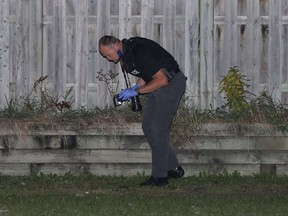 Ottawa police were on the scene of a reported shooting in the Foster Park neighbourhood Monday night.
