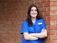 Haley Venable is taking a PSW training course that focuses o