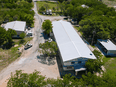 An aerial image shows the Christian Aid Ministries headquarters in Titanyen, Haiti, on October 22, 2021.