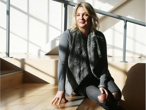 Terri Storey, who just released an app at SaaS North that will help people access mental health support.   Photo by Jean Levac/Ottawa Citizen Assignment number 128116