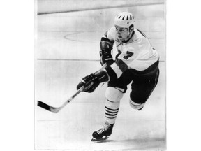 Denis Potvin 15 year old defenceman starring with the Ottawa 67's in OHA.