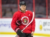 Filip Chlapik on the ice as the Ottawa Senators continue to practice at the Canadian Tire Centre during training camp. Photo Wayne Cuddington/ Postmedia