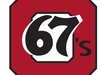 Ottawa 67's logo, 2017-18, Ontario Hockey League