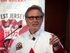 """Paul Henderson attends an event at the Hockey Hall of Fame in Toronto on Thursday, Sept. 28, 2017. Henderson launched a youth campaign called the """"Greatest Jersey Ever"""" on the 45th anniversary of his Game 8 series winning goal in the 1972 Summit Series. THE CANADIAN PRESS/Chris Donovan ORG XMIT: CD101"""