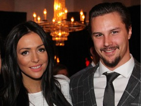 'We feel very lucky to be Axel's parents. Even though he was stillborn, we know we will hold him again one day under different circumstances and the joy he gave us will be with us forever,' Ottawa Senators captain Erik Karlsson and his wife, Melinda, wrote in a statement this week.