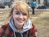 Brooke Deschamps, 22, was at Parliament Hill celebrating 4/20. She has been smoking pot since she was 16 and says it helps her control her anxiety.  Jacquie Miller photo
