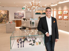 Company CEO Trevor Fencott, of Fire and Flower, a cannabis retail company based in Edmonton, has built a model store in Edmonton that is typical of the stores it hopes to open across Canada. The company has been granted a licence to operate a store in Saskatchewan, has applied for 37 store licences in Alberta, and welcomes the opportunity to open stores in Ontario, too.
