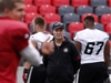 Ottawa Redblacks head coach Rick Campbell watches Trevor harris during practice at TD Place in Ottawa Wednesday Sept 19, 2018.  Tony Caldwell