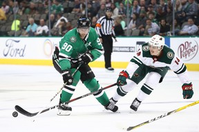 Dallas Stars centre Jason Spezza is closing in on some big milestones. (GETTY IMAGES)