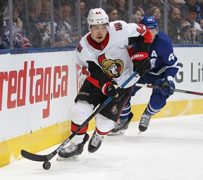 Senators' Jean-Gabriel Pageau has been a key part to the team's penalty kill. (GETTY IMAGES)