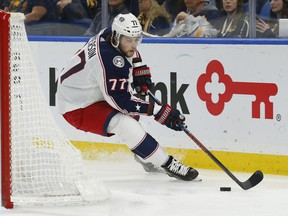 Blue Jackets forward Josh Anderson has demonstrated good scoring ability this past season.