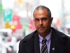 """Samir Bhatnagar arrives for his court case against the Ottawa Police,  November 20, 2018. Human rights complaint by Ottawa police Insp. Samir Bhatnagar alleging that the chief of police discriminated against him because of his skin colour. The police service, however, is defending itself against the """"bald allegations"""" of racial discrimination by saying the officer was openly critical of Chief Charles Bordeleau and therefore """"unfit"""" for promotion.   Photo by Jean Levac/Postmedia News  130451"""