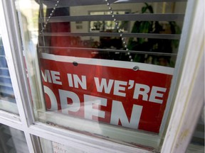 What's open and closed.