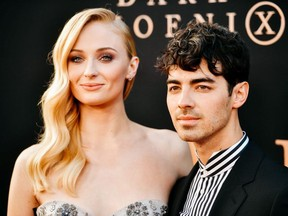 """Sophie Turner and Joe Jonas attend the premiere of 20th Century Fox's """"Dark Phoenix"""" at TCL Chinese Theatre on June 04, 2019 in Hollywood, California."""
