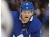 TORONTON, ON - JANUARY 6:  Ron Hainsey #2 of the Toronto Maple Leafs waits for a faceoff against the Vancouver Canucks during an NHL game at the Air Canada Centre on January 6, 2018 in Toronto, Ontario, Canada. The Maple Leafs defeated the Canucks 3-2 in an overtime shoot-out. (Photo by Claus Andersen/Getty Images)