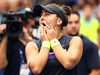 NEW YORK, NEW YORK - SEPTEMBER 07: Bianca Andreescu of Canada celebrates winning the Women's Singles final match against against Serena Williams of the United States on day thirteen of the 2019 US Open at the USTA Billie Jean King National Tennis Center on September 07, 2019 in the Queens borough of New York City. (Photo by Clive Brunskill/Getty Images)