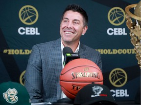 Mike Morreale, Commissioner and CEO of the Canadian Elite Basketball League (CEBL) announced the new Ottawa BlackJacks team coming to Ottawa Wednesday (Nov. 20, 2019) at TD Place.