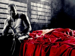 """Mickey Rourke and Jaime King in """"Sin City."""""""