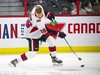 Connor Brown took part in the Ottawa Senators Skills competition that was held at the Canadian Tire Centre, Sunday Jan. 5, 2020. $40,000 was donated to the Ottawa Senators Foundation and NHLPA Goals and Dreams Fund at the event that Team Red won.    Ashley Fraser/Postmedia
