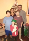 Liliane Hajjar, her husband Jason and their children Liam, Jacob and Sophia (facebook photo) ORG XMIT: 6e0_VbTENCIW0QURayEd