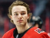 OTTAWA, ON - FEBRUARY 22:  Josh Norris #37 of the Ottawa Senators looks on during the warmups prior to a game against the Montreal Canadiens at Canadian Tire Centre on February 22, 2020 in Ottawa, Ontario, Canada.  (Photo by Jana Chytilova/Freestyle Photography/Getty Images)