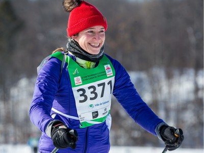 Rachael Merry competing in the 27 km Classic event at the Gatineau Loppet. February 15, 2020. Errol McGihon/Postmedia