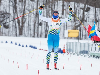 Fabian Stocek from Czech Republic was the fastest man in the 51km Classic event at the Gatineau Loppet. February 15, 2020. Errol McGihon/Postmedia