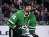 Feb 11, 2020; Dallas, Texas, USA; Dallas Stars left wing Jamie Benn (14) in action during the game between the Stars and the Hurricanes at the American Airlines Center. Mandatory Credit: Jerome Miron-USA TODAY Sports ORG XMIT: USATSI-405866