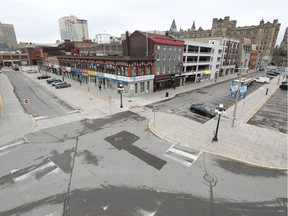 File photo/ An empty Market in Ottawa.