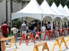 OTTAWA - JULY 31, 2020 - Lineups for testing at the COVID assessment centre at Brewer Arena Friday.  Julie Oliver/POSTMEDIA