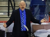 ST CATHARINES, ON - NOVEMBER 24:  Head Coach Andre Tourigny of the Ottawa 67's shouts to the referee during the second period of an OHL game against the Niagara IceDogs at the Meridian Centre on November 24, 2017 in St Catharines, Ontario, Canada.  (Photo by Vaughn Ridley/Getty Images)