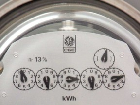 A residential natural gas meter is pictured in this file photo.