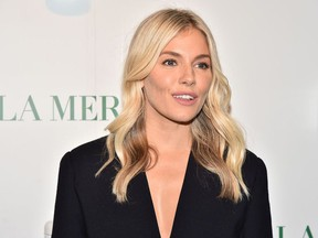 Sienna Miller attends La Mer By Sorrenti Campaign at Studio 525 on October 03, 2019 in New York City.
