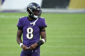 Ravens quarterback Lamar Jackson is looking to shed the label of choker.