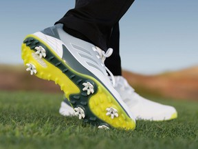 The lightweight adidas ZG21 spiked golf shoes are creating a buzz in the golf industry.