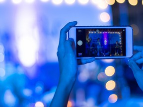 A newlywed isn't happy a wedding guest decided to post a video of the event on social media without her permission.