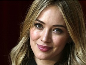 Hilary Duff at The Hospital for Sick Children on Wednesday December 4, 2013.