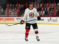 As part of a hockey movement to support World Down Syndrome Day, Ottawa Senators Artem Zub pulled up his socks at practice  — one red, one white.
