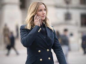 Sharon Carter/Agent 13 (Emily VanCamp) in Marvel Studios' The Falcon and the Winter Soldier exclusively on Disney+.