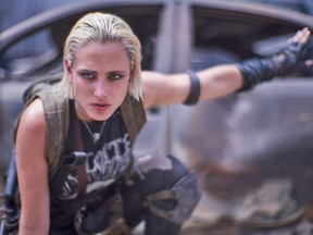 Nora Arnezeder as Lily (The Coyote) in Army of the Dead.